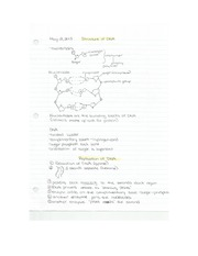 Med Sci - Permutations_Combinations & Structure of DNA Class Notes