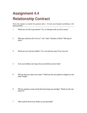 Assignment 4.4 Relationship Contract (1)