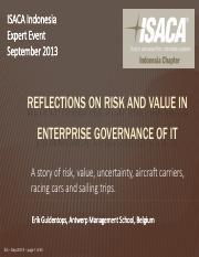 Erik Guldentops - ISACA Indonesia reflection risk and value - final prn.pdf