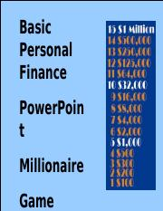 Millionaire Game.ppt