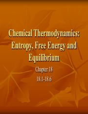 Chemical Thermo. - Entropy, Free Energy, & Equilibrium.pdf