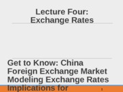 Baker Foriegn Exchange Rates CHp 4