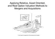 Chapter 8 Primer on Relative Valuation Methods