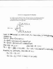 CIv E 331 Assignment #1-solution(2015).pdf
