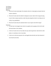 The apology paper for LIB 100 part 2