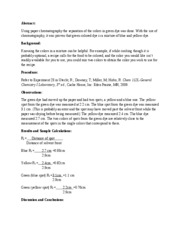 Experiment 23 Lab Report