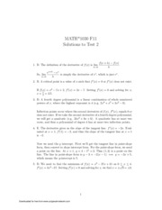 Midterm2 (solutions)