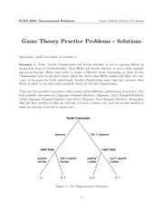 Game Theory Practice Problems Solutions(1)