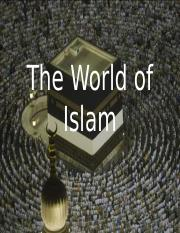 The World of Islam World Civilizations.ppt