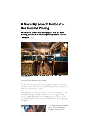 Bob Bob Ricard Restaurant Plans to Revolutionize the Way You Pay to Eat Out - Bloomberg.pdf