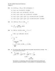Chapter 9 HW Solutions