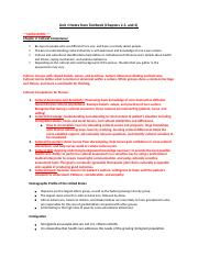 Unit 1 Notes from Textbook- Health Assessment .docx