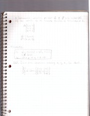 cal 3 -review problems homework