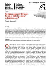 Nuclear power in Ukraine_ Crisis or path to energy independence__ EBSCOhost_files