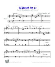 Bach - Minuet in G