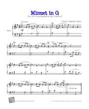 Bach Minuet In G Arizona State University Mus 355 Winter 2015 Minuet - Bach minuet 2 related keywords amp suggestions bach minuet 2 long tail