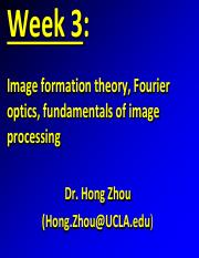 Lecture 5 - Week 3- Wednesday- Zhou-Fourier-imageFormationTheory