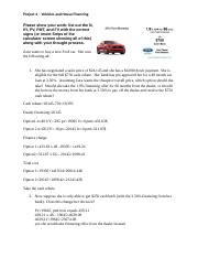 Project 4A (Vehicles and Housing) Part III(1)