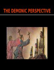 POSTED - THE DEMONIC PERSPECTIVE.pptx