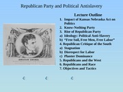 Lecture-25-RepublicanParty