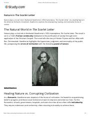 Nature in The Scarlet Letter | Study.com.pdf