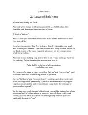The 21 Laws of Boldness.pdf