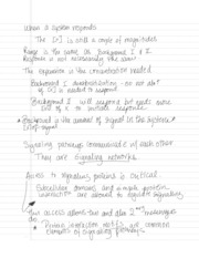 Cell signaling Notes page 2 Jan132010
