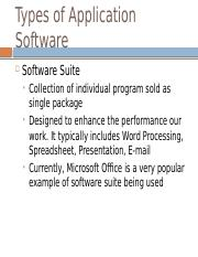 Software part 2