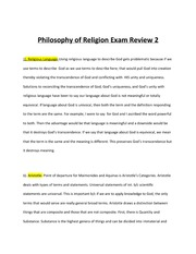 PhilosophyFinalExamReview2013