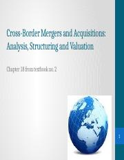 Lecture 10 Cross-Border Mergers and Acquisitions.pptx
