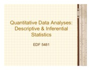 6 - Chapters 17&18 - QUAN Data Analyses