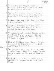 Beowulf Notes 2