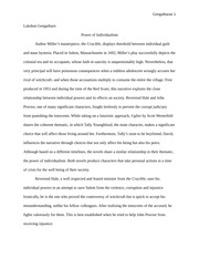 Power of individualism essay