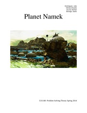 Project Report 1 - Namek