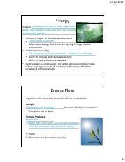 Biol 106 Lecture 23 Notes_Communities_Ecosystems