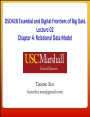 DSO428 Lecture 02 - Relational Model Aug302016(1).pdf