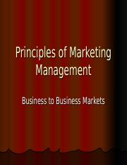 Business to Business Markets[1].ppt