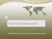 Lect#8-Project-Quality Management