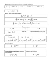 ASE 362K - Exam 1 Equation Sheet