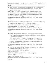 SITHKOP002 Plan and cost basic menus.docx