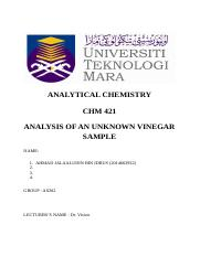 CHM 421 analytical lab report 2.docx