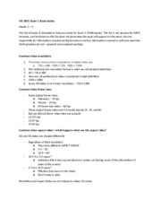 VIC study guide