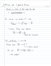 23-Diffusion and Laplace & Poisson equations