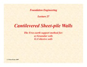 Lecture27-Cantilevered-Sheet-pile-Walls