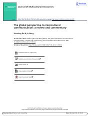 The global perspective to intercultural communication a review and commentary.pdf