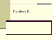 302a pp section 5.2 Fraction III