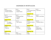 overview of sports econ