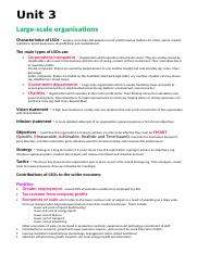 9461Business management 3&4 summary notes.doc