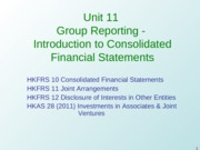 Unit 11 - Grp Rep - Consol Fin Stat