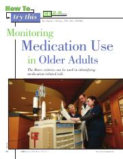 How to Try This- Monitoring Medication Use in Older Adults- week 2